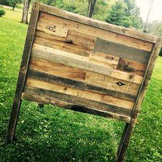Custom Full Size Headboard. Organicrecreationsart@gmail.com · Recreations  ArtOrganic RecreationsFurniture ...