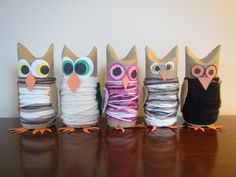 DIY: Owl Family Pinned by www.myowlbarn.com