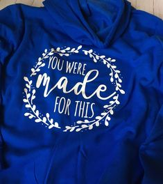 This royal blue though