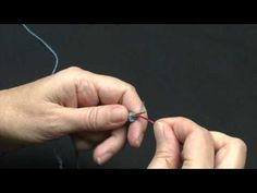 Strik et ærme med magic loop - YouTube