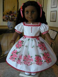 American Girl mid1800s Garden Party Girls offering by dolltimes
