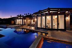 California Modern Concrete Mansion