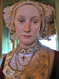 Anne of Cleves, Fourth Wife of Henry VIII, Waxwork at Warwick Castle | Flickr - Photo Sharing!