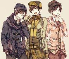Ichimatsu, Jyushimatsu & Todomatsu