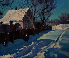 "Saatchi Art Artist Anastasia Yaroshevich; Painting, ""Sunny afternoon"" #art"