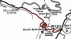 black bear pass road map