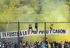 Uno de mis sueños, ir algún día a un partido en La Bombonera