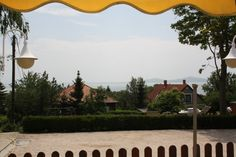 Rózsa apartman, kilátás a kertre és a Balatonra. Badacsony - Lake Balaton - Hungary Bacchus, Hungary
