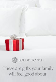 The best gifts are ones that make you feel good, inside and out. Shop our collection of 100% organic cotton bedding, throws, towels and more. Thoughtful gifting is easy when you choose Boll & Branch products!