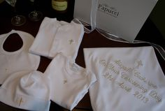 3 colours Personalised Baby Bath Robes Dressing Gowns from Papucci super soft