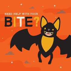 CLEAN YOUR FANGS so you can show them off this Halloween! #DentalHealthTips