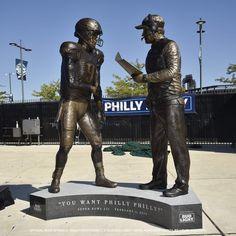 nick foles statue at DuckDuckGo Go Eagles, Eagles Fans, Fly Eagles Fly, Philadelphia Eagles Football, Philadelphia Sports, Football Is Life, Football Players, Football Stuff, Eagles Super Bowl
