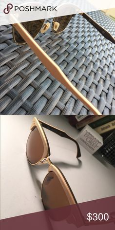 4fb6fe8ca8 Ray-Ban Clubmaster wooden frame sunglasses Super New. I just got these and  they