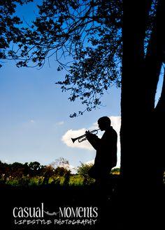 senior Portrait with Trumpets | senior portraits for Peters Township High School, senior pictures ...