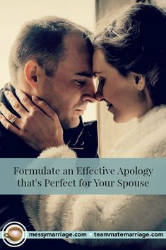 Every couple finds things going sideways from time to time--calling for an effective apology to bridge the divide and heal the damage. So come by MM and learn how to craft an effective apology--one that is custom-fit for your spouse's preferences and needs. #apology #apologize #tips #marriage #spouse #communication #troubles #anger #tips #confess #confession #effective #conflict #quotes #connection #boundaries #respect