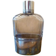 louis vuitton hipflask  c.1930s, france. Now thats a hipflask I wouldn't mind popping in my handbag!