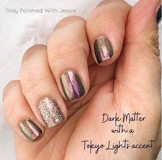 Get Nails, How To Do Nails, Hair And Nails, Nice Nails, Nail Color Combos, Nail Polish Colors, Sparkle Nails, Nail Bling, Happy Nails
