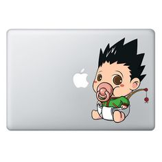 [ Gon Freecss ] PACIFIER SERIES FOR MACBOOK & LAPTOP