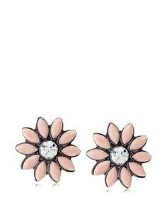 54% OFF Amrita Singh Holi Floral Stud Earrings