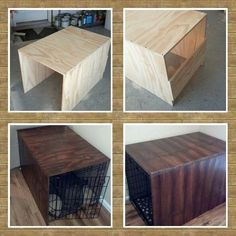 New Diy Dog Kennel Cover Crate Table 58 Ideas