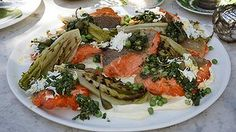 Ocean trout seared on a grill or barbecue makes a delicious addition to any Christmas table.