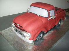 How to make a chevy truck cake
