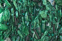 "Photojournalist Huguette Roe captures that metamorphosis in her series ""Recycle,"" which explores the afterlife of bottles, cans and other packaging destined to be reborn for reuse."