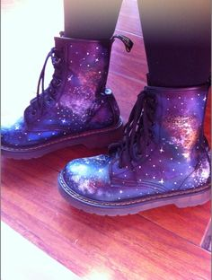 Galaxy Doc Martens  #docmartens #fallfashion #fallfootwork