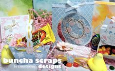 """Buncha Scraps : Easter Goodies using the """"Cute as a Bunny"""" Collection"""