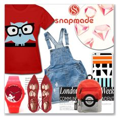 """snapmade"" by kriz-nambikatt ❤ liked on Polyvore featuring Fat Face and Bioworld"