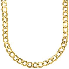 Lord & Taylor 14K Yellow  Mens Necklace ($775) ❤ liked on Polyvore featuring jewelry, necklaces, gold, 14k gold jewelry, polishing gold jewelry, 14 karat gold jewelry, 14k jewelry and polish jewelry
