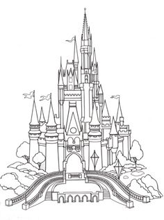 Disney Coloring Pages. Disney Coloring Pages For Adults Disneyland Castle Book Info Pokemon Crayola Cars Sofia The First Games Frozen Princess That You Can Print Girls No Olor Color By Number Toy Story Disney World Castle, Disney Princess Castle, Disneyland Castle, Cinderella Castle, Cinderella Disney, Walt Disney Castle, Disneyland Rides, Tinkerbell Disney, Fantasia Disney