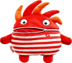 Popular gift: The idea behind the £20 Sorgenfresser Worry Eater is that children write dow...