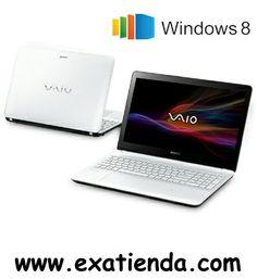 "Ya disponible Nb Sony vaio f1531c4ew i7 4500u/8gb/750gb/15.5""/w8/64    (por sólo 986.95 € IVA incluído):   -Procesador:Intel Core i7-4500U / 1.80 GHz -Memoria:8GB DDR3 (max.8GB) -Hdd:750 GB (5400 rpm SATA) -Óptico:DVD Super Multi Dual Layer -Pantalla:15.5"" LED HD (1366x768) 16:9 Gloss Táctil -Graficos:GeForce GT 740M con tecnología NVIDIA Optimus con 2 GB VRAM -Webcam:Integrada -Conectividad: *Lan:10/100 *Wifi:802.11 b/g/n *Bluetooth:V4.0 High Speed -Sistema operativo:"