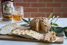 Bourbon Bacon Cheese Ball recipe from Green Brier Distillery in Nashville, Tennessee. #Nashville #MusicCity #NashvilleRecipe
