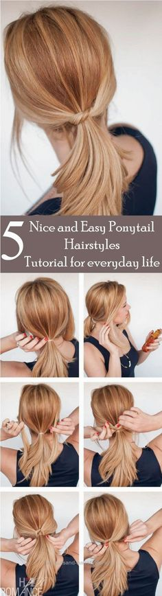 Magnificent Looking for some nice and easy ponytail hairstyles idea? We are here with five nice and easy ponytail hairstyles. Ponytails are casual but if designed properly, ..
