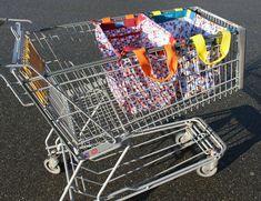 Einkaufswagentasche Sina Ebook Einkaufstasche bei Makerist