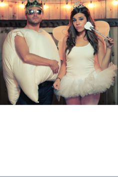 Tooth and tooth fairy costume