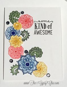 (Lover of all Art Supplies~Cardmaking~Planner Addict} Gypsy Chic, Like A Boss, Close To My Heart, Cool Cards, Creative Cards, Kids Cards, Cardmaking, Stamping, Birthday Cards