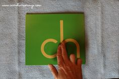 Montessori Language Sequence of Lessons.  Excellent!  Must Have!!