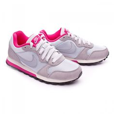 buy popular 4db49 d3857 If everything else fails  choose florals. Grey and Pink Floral Classics.   nikes