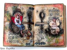 Scraps of Elegance - November - Tracey's Country Kitchen Kit - Art Journal and tags