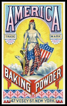 America Baking Powder | Sheaff : ephemera