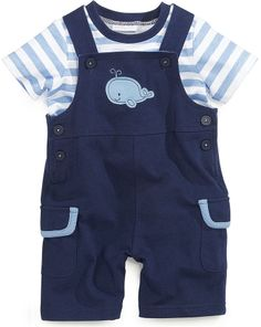 First Impressions Baby Boys' 2-Piece Tee & Shortall Set on shopstyle.com