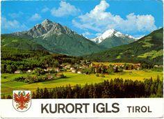 Postcard From Kurort Igls, Tirol, Austria