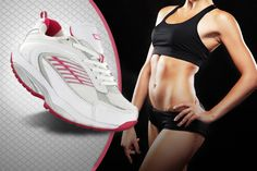 Get a pair of Pineapple Dance Studio toning trainers.