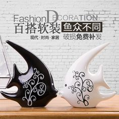 home decoration accessories Furnishing TV cabinet wedding gifts ceramic craft ornaments on black and white couple kiss fish https://www.aliexpress.com/store/product/decoration-Home-Furnishing-TV-cabinet-wedding-gifts-ceramic-craft-ornaments-on-black-and-white-couple/219022_32729710029.html
