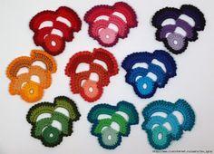 Artes em Lãs e Linhas: Motivos Irish Crochet