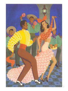 Cuban Dancers Prints at AllPosters.com