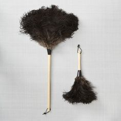 Ostrich Feather Dusters - -available at www.thefoxesden.co.nz